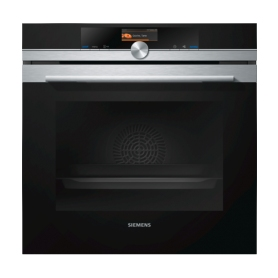 Siemens Hb656gbs1b Iq700 Black Stainless Steel Single Oven
