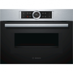 Bosch CMG633BS1B Stainless Steel, Compact Built-In Combination Microwave Oven