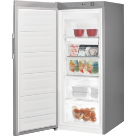 Indesit 60cm Tall Freezer SIlver - 1