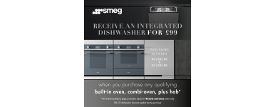 Smeg Integrated Dishwasher for 99