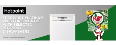 Free Fairy for 6 months hotpoint