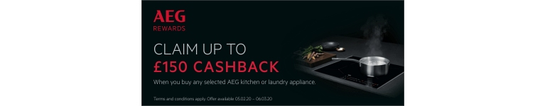 AEG Kitchen Laundry 150 Cashback