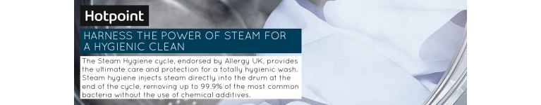 Steam Hygiene Hotpoint Washing Machine